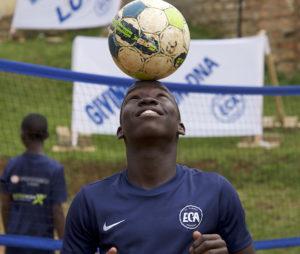 El Cambio Academy footballer Uganda