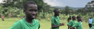 El Cambio Academy football player student athlete Uganda