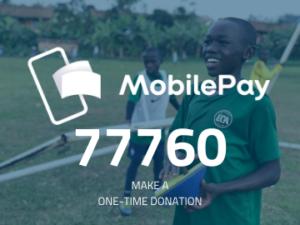 Donate El Cambio Academy Uganda NGO via MobilePay