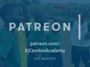 Donate El Cambio Academy Uganda NGO via Patreon