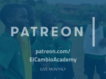 Donate El Cambio Academy Uganda NGO via Patreon