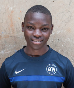 Eddie - football physiotherapist Uganda