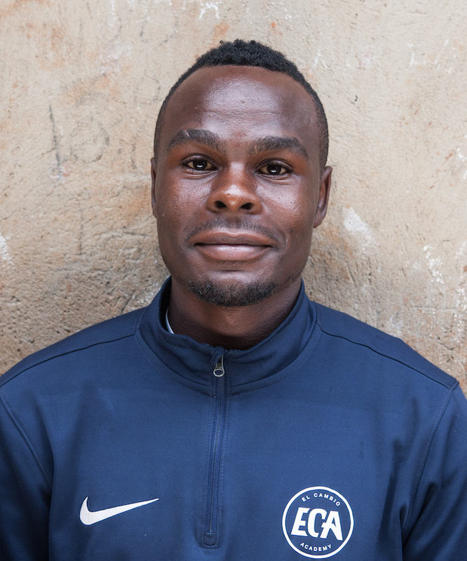 Steven – football coach Uganda