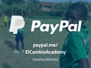 Stotte El Cambio Academy Uganda NGO via PayPal