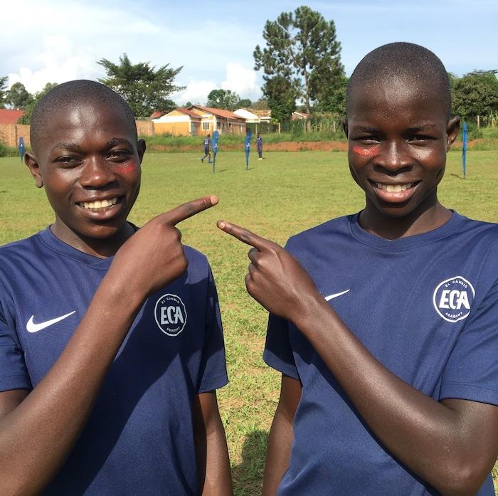 Girls football in Uganda