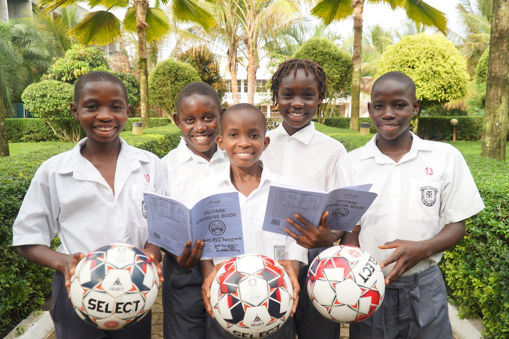 Fully residential girls football academy in Uganda