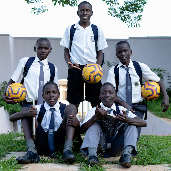 ECA club student athletes